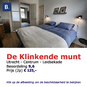 bed and breakfast utrecht de klinkende munt