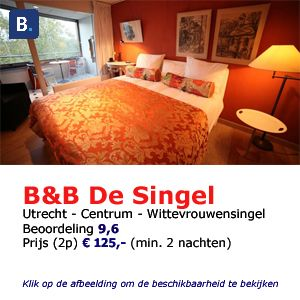 bed and breakfast utrecht de singel
