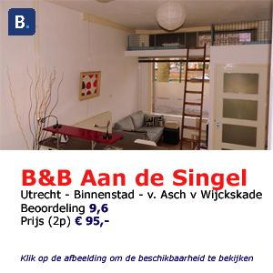 bed and breakfast utrecht aan de singel van