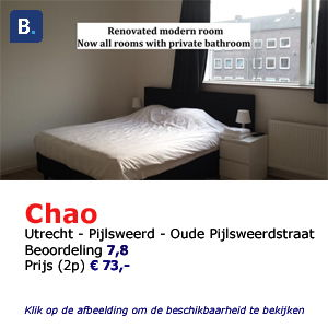 bed and breakfast utrecht chao