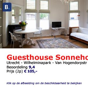bed and breakfast utrecht guesthouse sonnehoeck